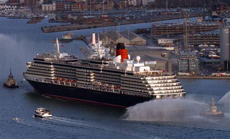 Cunard's £300m Queen Victoria Sails Into Southampton