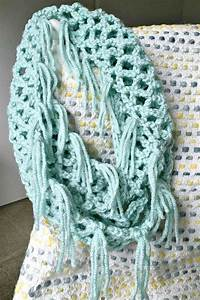 Lace Fringe Infinity Scarf | TCWL Designs | Pinterest ...