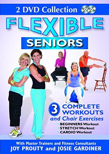 Chair Exercise For Seniors Dvd by Seniors 2 Dvd Set With 3 Complete Workouts