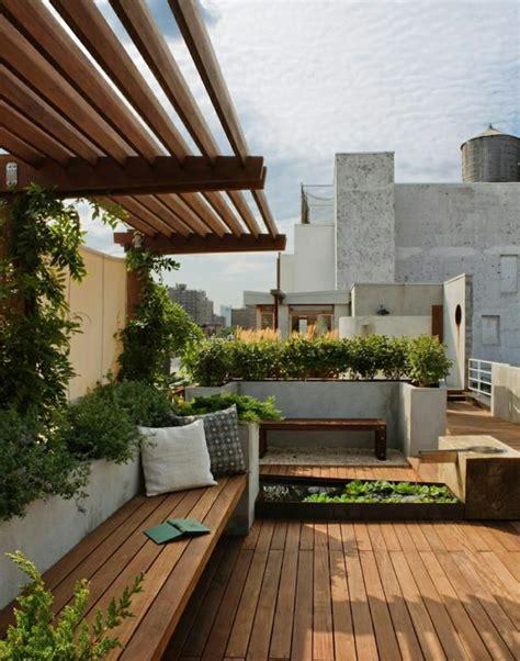 terrassengestaltung mit pflanzen moderne terrassengestaltung einen luxuri 246 sen au 223 enbereich gestalten