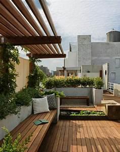 Moderne Terrassengestaltung Einen Luxurisen