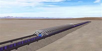 Hyperloop Tube Test Train Speed Explained Self
