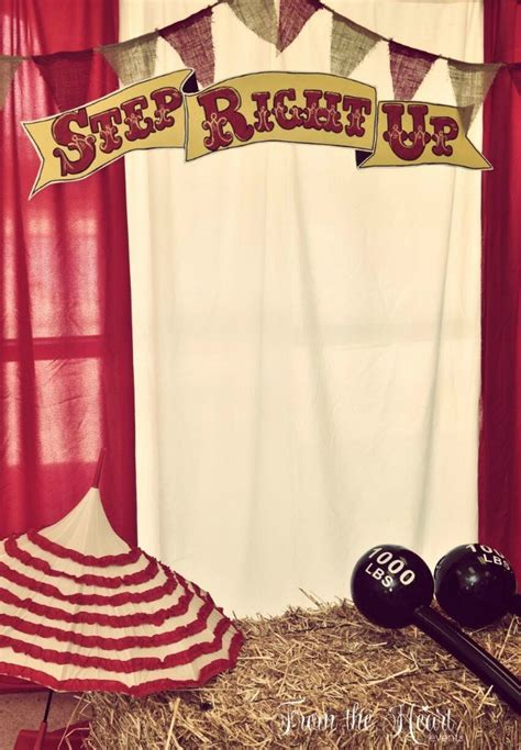 vintage circus party guest feature celebrations  home