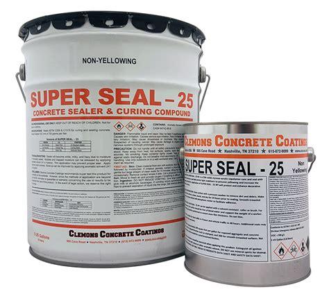 superseal semi gloss  gallon concrete sealers