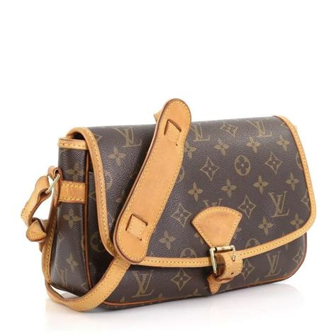 louis vuitton sologne handbag monogram canvas  stdibs