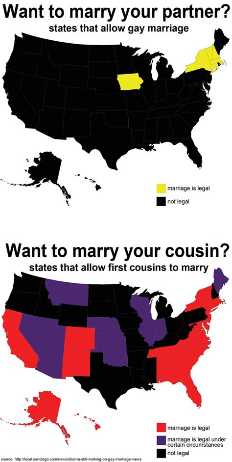 Gay Marriage Vs Cousin Marriage The Main Difference