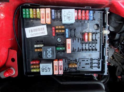 engine bay fuse box   mk general area