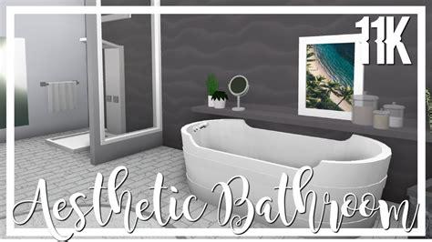 bathroom ideas  bloxburg home sweet home modern