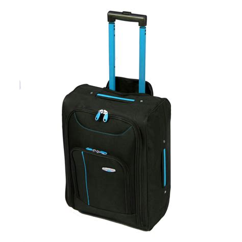 Cabin Approved Luggage Cabin Approved Wheeled Travel Luggage Trolley Holdall