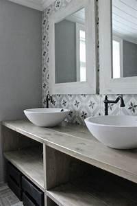 la vasque ronde en 45 photos choisissez la votre With salle de bain design avec pose vasque salle de bain