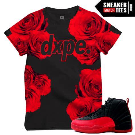 Flu Game 12 t shirts matching sneakers | Sneaker Match Tees