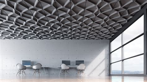 Ceiling Tiles by Voronoi Acoustic Ceiling Tile By Turf