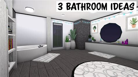 roblox   bloxburg  bathroom ideas youtube
