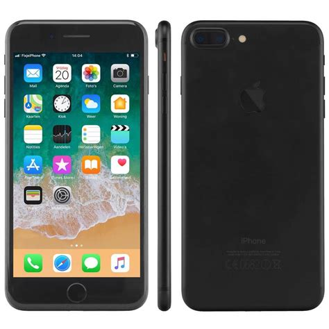 refurbished iphone   zwart  gb kopen fixjeiphonenl