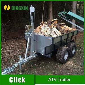 Small Atv Trailer Towing Behind Atv And Tractor Atv Tow