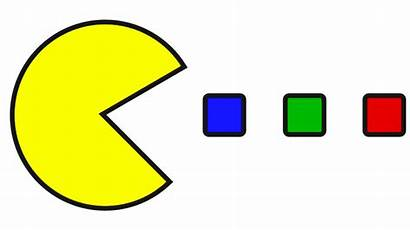 Pacman Clip Clipart Games Packman Transparent Fans