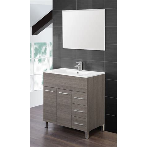 mobile bagno 80 cm mobile bagno completo 80 cm lavabo ceramica specchio