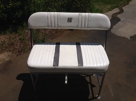 Skiff Boat Seats by Carolina Skiff Flip Back Seat The Hull Boating