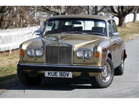 1980 Rolls Royce Silver Shadow by 1980 Rolls Royce Silver Shadow Ii For Sale Classiccars