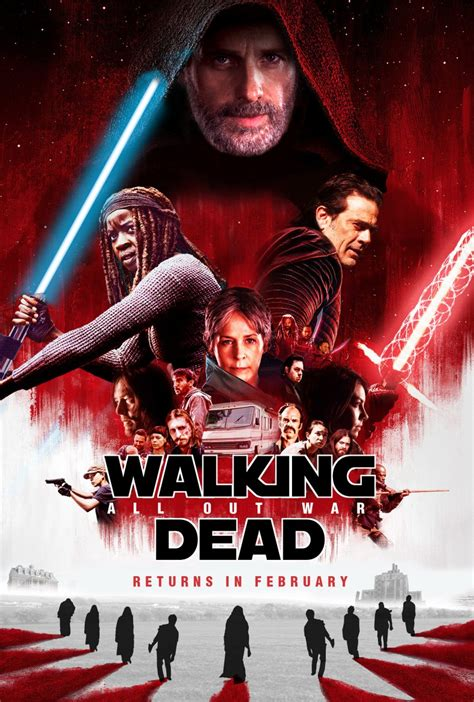 walking dead tribut  star wars   jedi