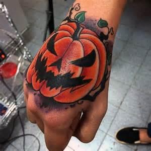 Halloween Pumpkin Tattoo Designs