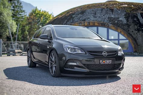 astra opel opel astra j wagon doubles its value with vossen cvt