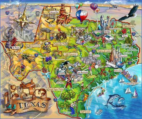 texas map tourist attractions toursmapscom