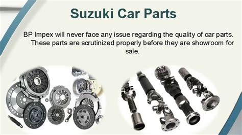 Suzuki Genuine Parts by Genuine Suzuki Spare Parts Bp Auto Spares India