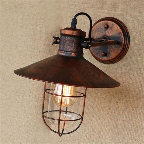 copper wall sconces antique retro copper wall light vintage rustic led wall