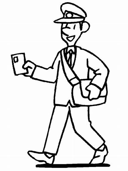 Coloring Pages Mail Advertisement