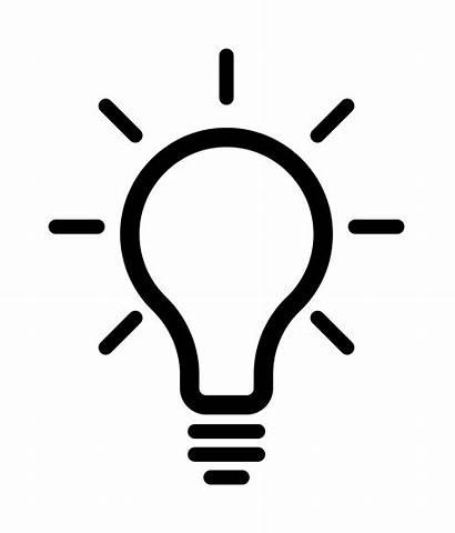 Icon Lightbulb Svg Project Noun Cc Commons