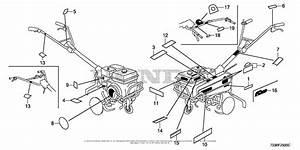Honda Fc600k2 Ah Rototiller  Chn  Vin  Facc