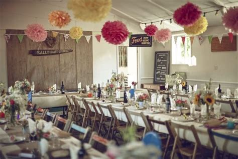 family friendly seaside diy village hall wedding wedding