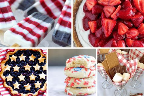 desserts for july 4th easy elegant 4th of july desserts tinselbox