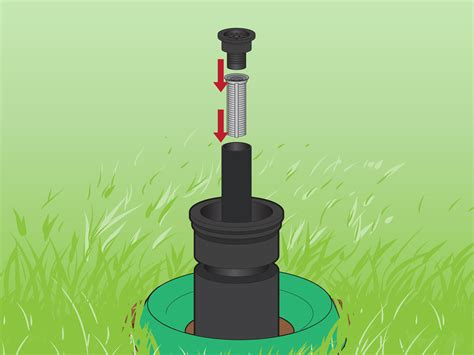 protect sprinkler heads  pictures wikihow