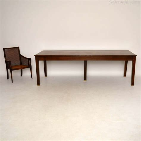antique walnut dining table large antique solid walnut dining table antiques atlas
