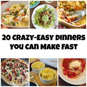 Easy Meals to Make Dinners