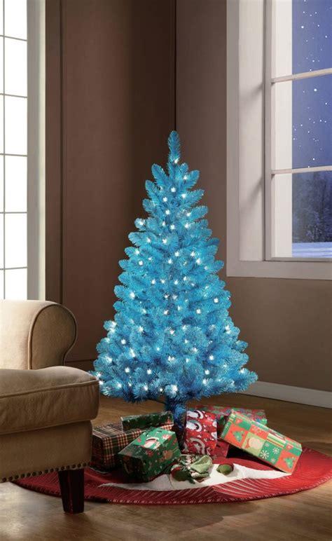 mesmerizing blue christmas tree decoration ideas