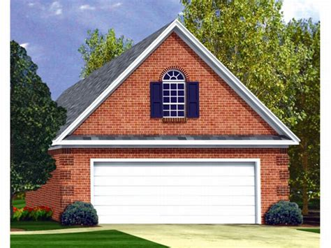 2-car Garage Loft Plan #001g-0002 At
