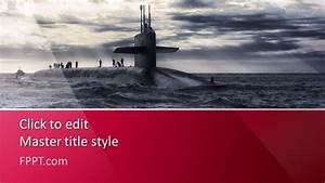2013 Powerpoint Templates Free Submarine Powerpoint Template Free Powerpoint Templates