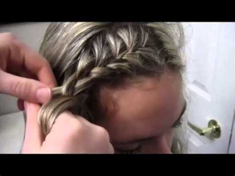 tutorial   side french braid youtube