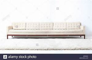 Longchair Couch : very long white modern sofa couch stock photo royalty ~ Pilothousefishingboats.com Haus und Dekorationen