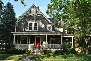 home tour in the historic district of naperville illinois - Farmhouse House Plans With Porches