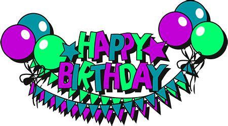 Happy Birthday Animated Clip 50th Birthday Balloons Clip 101 Clip