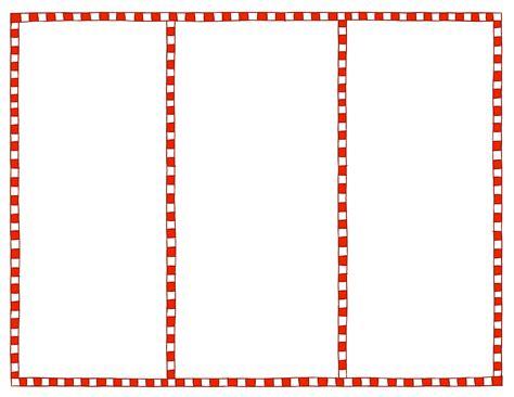 tri fold brochure templates blank printables