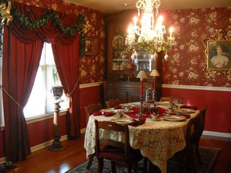 victorian wanna  christmas   dining room
