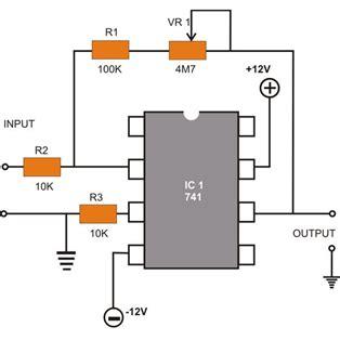 Amp Pin Diagram Operational Amplifier