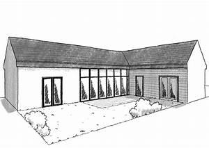 Plan De Construction : plan maison de plain pied 100 m avec 3 chambres ooreka ~ Premium-room.com Idées de Décoration