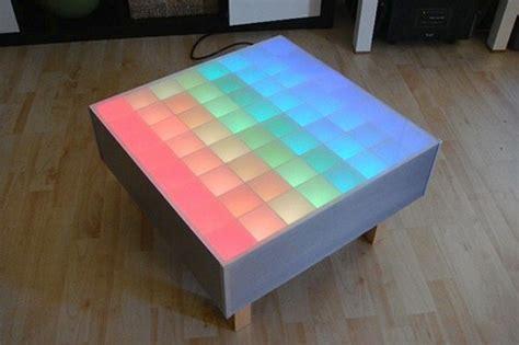 RGB LED Coffee Table