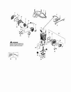 Poulan P3818 Gas Chainsaw Parts